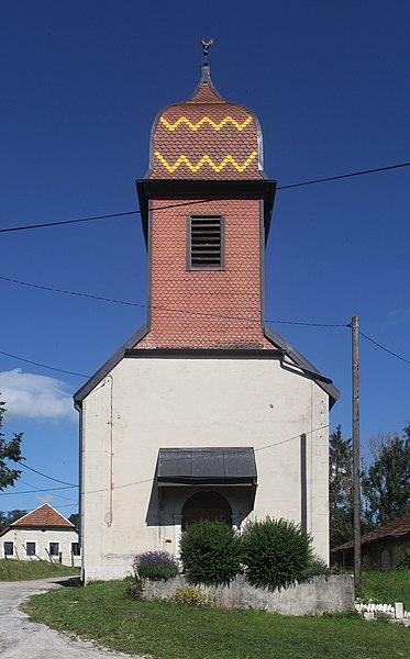 Chapelle à Montflovin (Doubs).