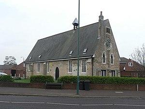 Moordown - The old school-chapel at Moordown, erected in 1853.