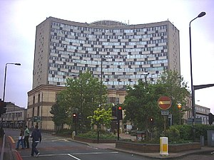 Merton London Borough Council - Image: Morden Civic Centre, London Road. geograph.org.uk 21466