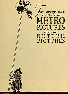 logo de Metro Pictures Corporation