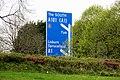Motorway sign, Lisburn - geograph.org.uk - 1829509.jpg