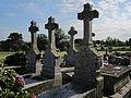 Moulines, Manche - Tombe des Gaudin de Villaine.JPG