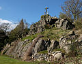 Mount Saint Bernard Abbey, High Calvary.jpg
