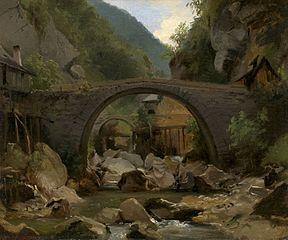 Mountain Stream in the Auvergne