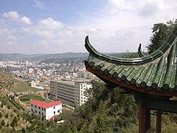 Zone urbaine de Dingxi (District d'Anding)