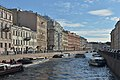 Moyka river in Saint Petersburg view south from Pevchesky bridge.jpg