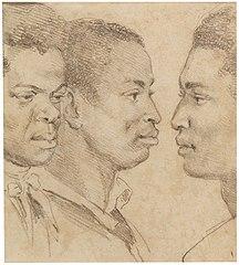 Mr. Samuel's three slaves