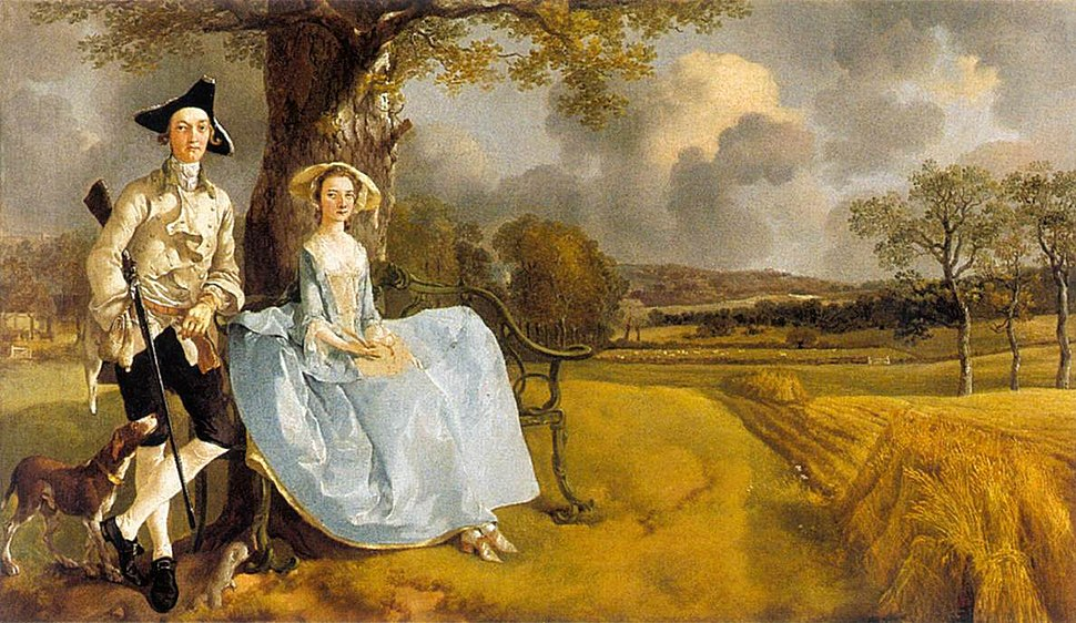 Mr and Mrs Andrews 1748-49