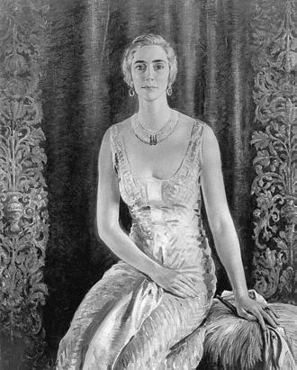 Samuel L. M. Barlow II - Portrait of Ernesta Beaux by William Bruce Ellis Ranken, 1933