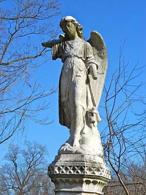 Mount Moriah Cemetery (Philadelphia) - Grave of John Q.A. and Mary Ziegler