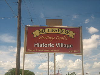 Muleshoe Heritage Center - Muleshoe Heritage Center Historic Village