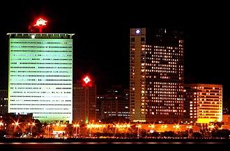 Nariman Point - Image: Mumbai skyline