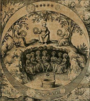 Musaeum Hermeticum - Frontispiece of the Musaeum Hermeticum