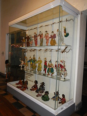 Museo Pambata - Marionettes display in the children's museum