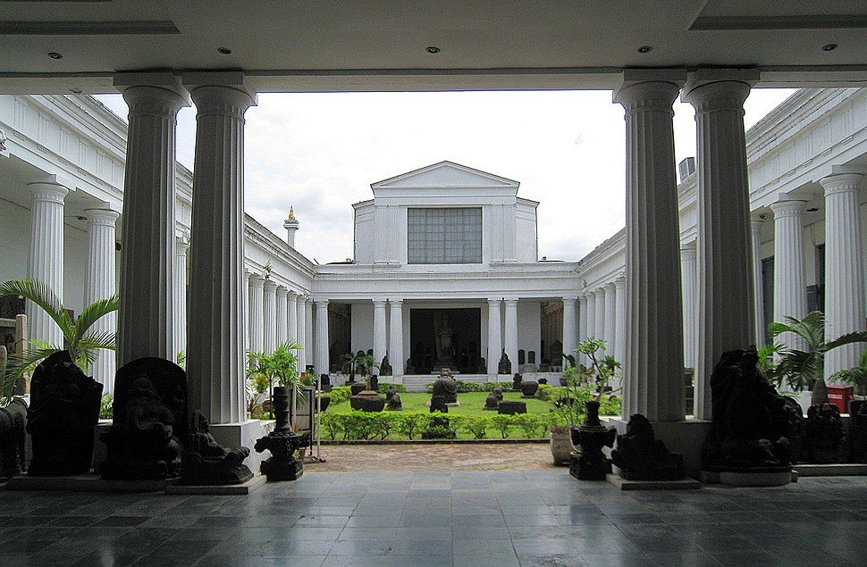 Museum Nasional Courtyard