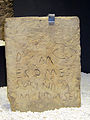 Museum of Prehistory and Archaeology of Cantabria 05 - Stele dedicated by Mesorina (Monte Cildá).jpg