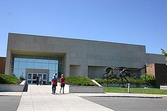 Museum of the Rockies - Museum of the Rockies front entrance.