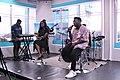Musicians performing in the studios of Citi TV in Ghana.jpg