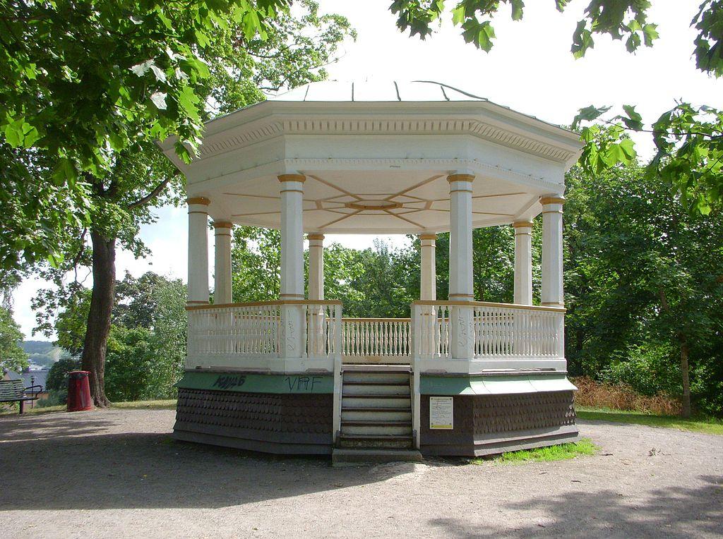 Musikpaviljongen Vitabergsparken 2011