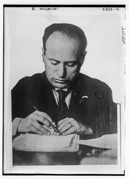 "mussolini policies essay Benito mussolini's self-confessed ""thirst for military glory"" battled his acute intelligence, psychological acumen, and political shrewdness for control over his military policies."