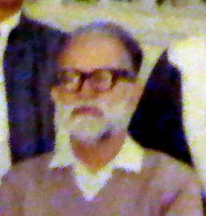 Muztar Abbasi - 1989 photo at PAF Model School Lower Top