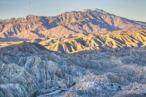 Santa Rosa and San Jacinto Mountains National Monument - Landscape, Santa Rosa and San Jacinto Mountains National Monument.