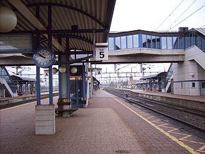 Nässjö - Image: Nässjö järnvägsstation, den 23 april 2007, bild 1