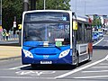 """NK61 ECN 36468 """"lilly"""" Stagecoach Events (South Shields) Enviro 200,Olympic games vehicle. (7713455030).jpg"""