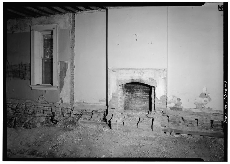 File Northwest Room With A Fireplace Fort Totten
