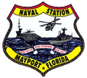Naval Station Mayport - Image: NS Mayport logo