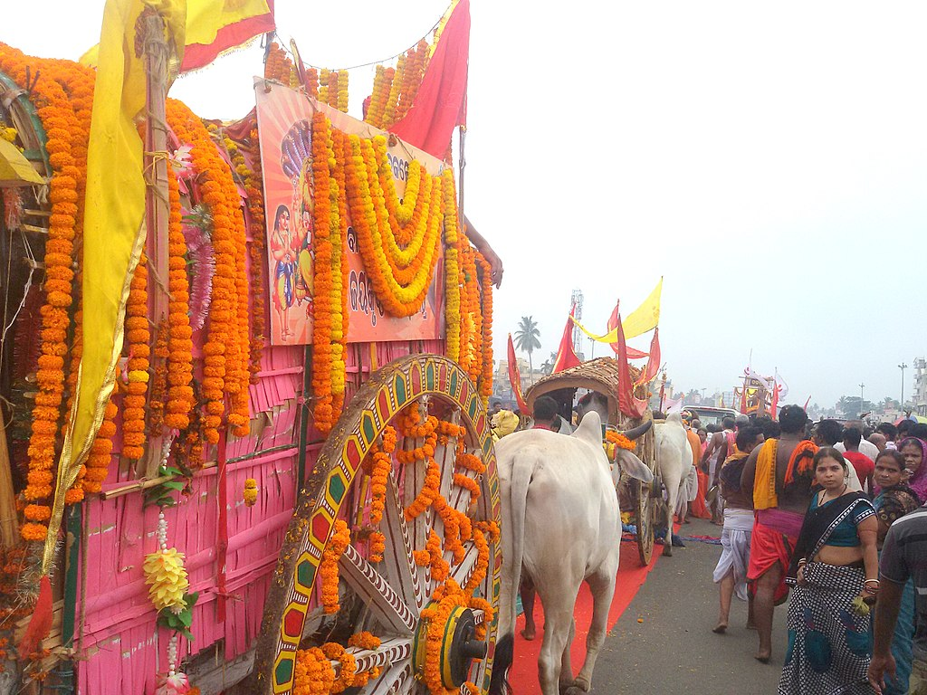 Nabakalebara procession in 2015