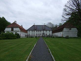 Næs jernverk - Næs ironworks, main building