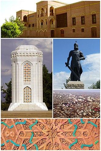 Nakhchivan (city) - Image: Nakhchivan montage 1