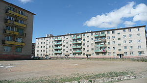 Nalaikh - Block of flats in Nalaikh