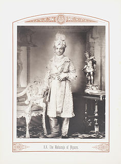 Maharaja Hindu Indian ruler title