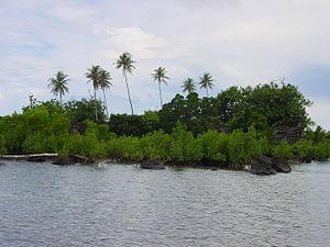Isokelekel - Nan Madol shoreline view