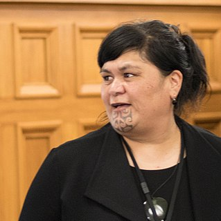 Nanaia Mahuta New Zealand politician