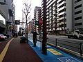 Nanotsu-dori Street near Nishikoen-Shita Crossroads (west).JPG