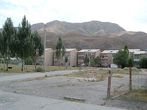 نارين: Image:Naryn buildings