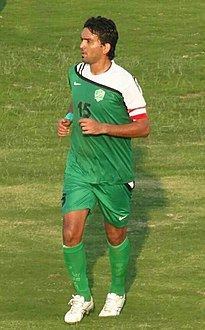 Nashat Akram playing for Al-Shorta in 2013.jpg