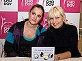 Natálie Kocábová a Barbara Nesvadbová 2010-11-06.jpg