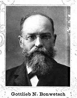 Nathanael Gottlieb Bonwetsch 1848-1925