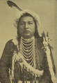 Native American man, before March 1900 - from, The Pacific Monthly volume 3 number 5 cover (cropped).png