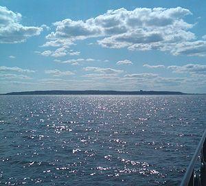Navesink Highlands - Image: Navesink Highlands from Atlantic Ocean