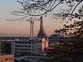 Negishi oil refinery from Shirotaki-fudoson , Yokohama - panoramio.jpg