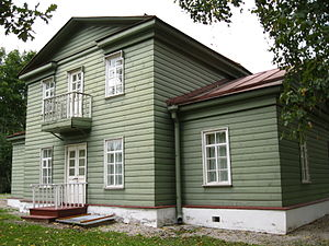 Chudovo, Chudovsky District, Novgorod Oblast - The Nekrasov Museum in Chudovo