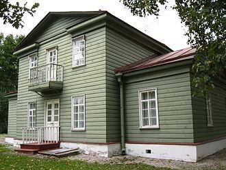 Chudovo, Chudovsky District, Novgorod Oblast - The Nekrasov Museum in Chudovo