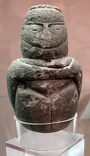 Bonu Ighinu culture - Mother goddess statuette from Olbia