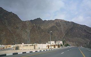 Nahwa village in United Arab Emirates