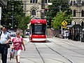 New Flexity LR vehicles approach Spadina and College, 2016 07 21 (6).JPG - panoramio.jpg